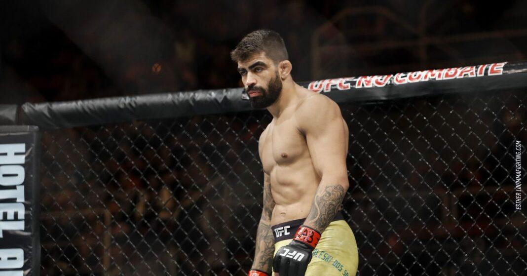 Elizeu Zaleski vs Shavkat Rakhmonov en el trabajo de UFC 254