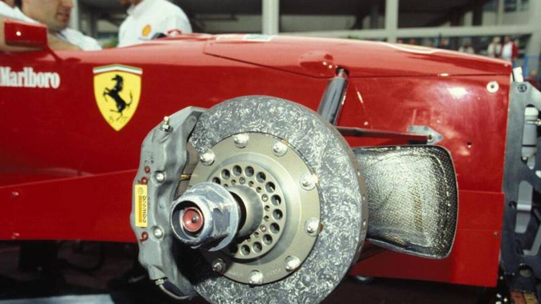 F1, Brembo-Ferrari, de los discos de hierro fundido al carbono: una historia desde 1975
