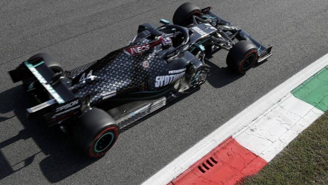 F1 Monza, entrenamientos libres 2: Hamilton domina.  Ferrari siempre lejos