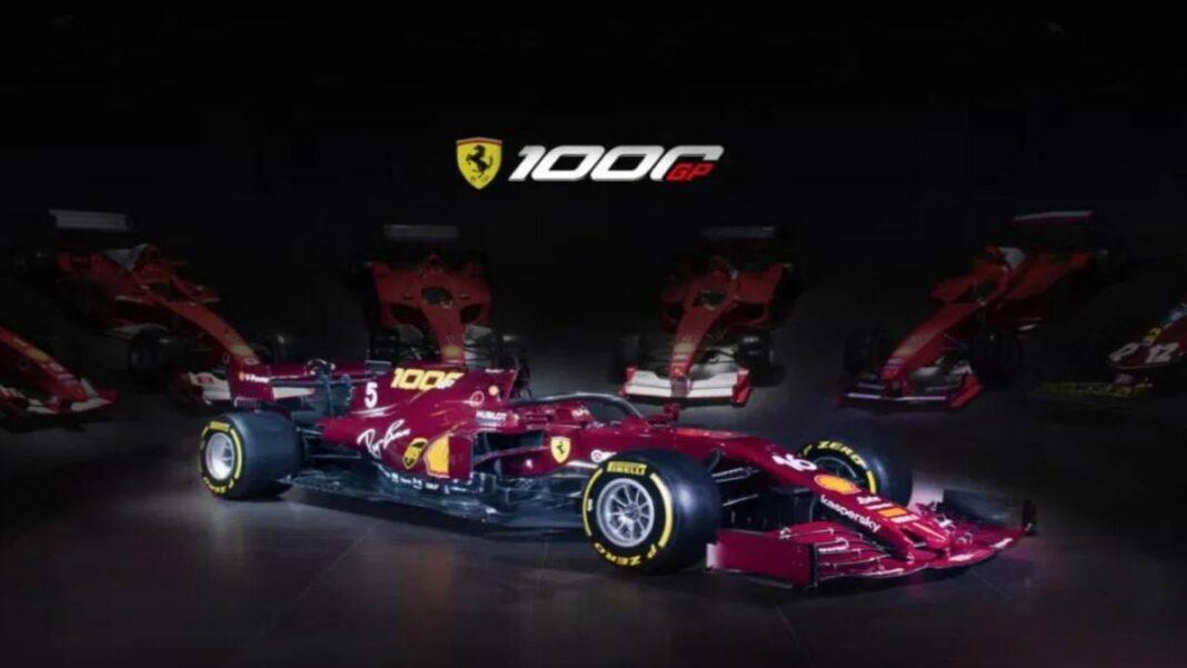 Ferrari, atrás en el tiempo: decoración especial para el GP de F1 de Mugello
