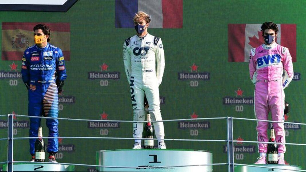 GP Monza: adivina el podio y gana 34 mil euros con 20 céntimos