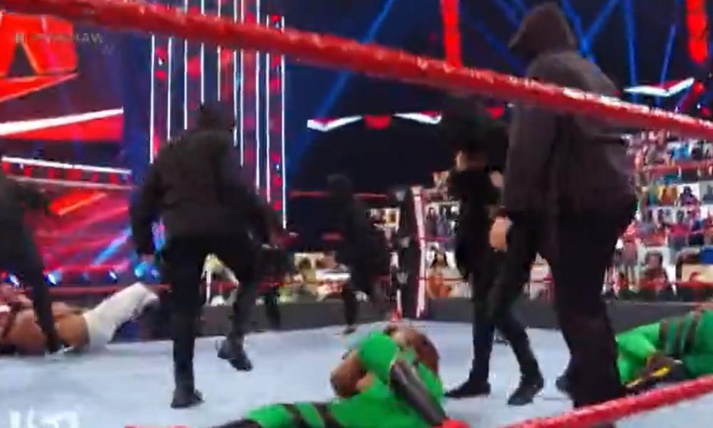 La identidad de los miembros de Redtribution que aparecieron en WWE Raw esta semana