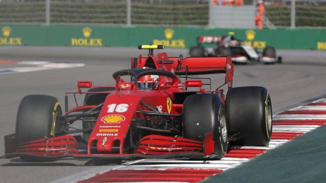 Leclerc: 'Estrategia correcta, el sexto puesto es positivo'.  Vettel: 'Mala suerte al principio'