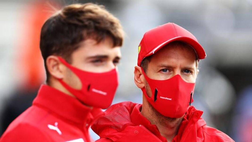 Leclerc y Vettel: 'Dura en Monza, pero no nos desmotivamos'