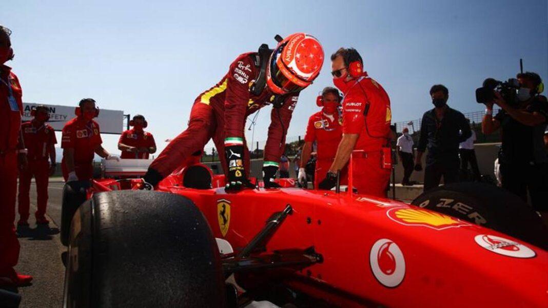 Mick Schumacher, qué emoción: en Mugello con el legendario F2004 de su  padre - Noticia Sport