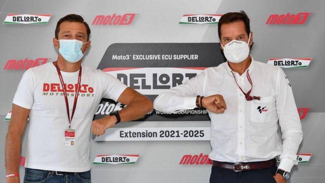 Moto3, proveedor exclusivo de Dell'Orto de la unidad de control hasta 2025