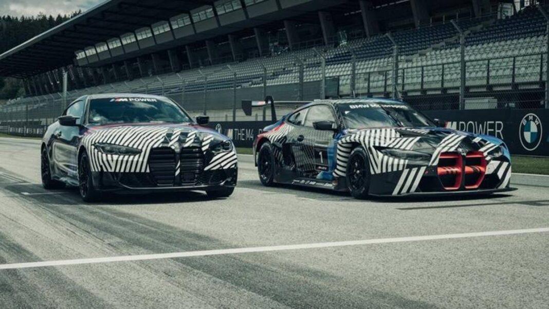 Nuevo BMW M4 Coupé en MotoGP, la primera salida