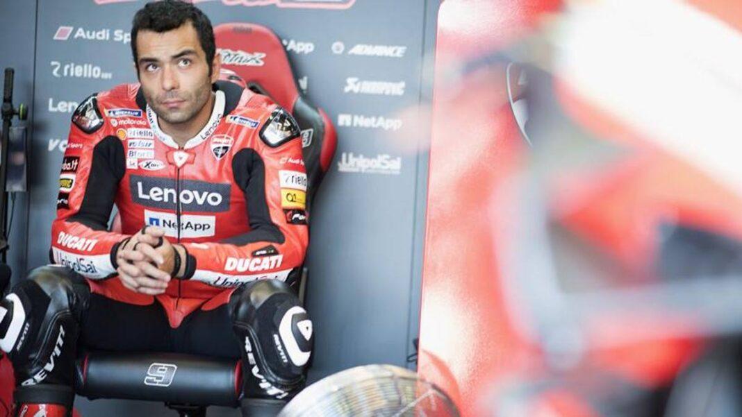"""Petrucci: """"Nunca tan mal: no tengo la Ducati en la mano y ya no la disfruto"""""""