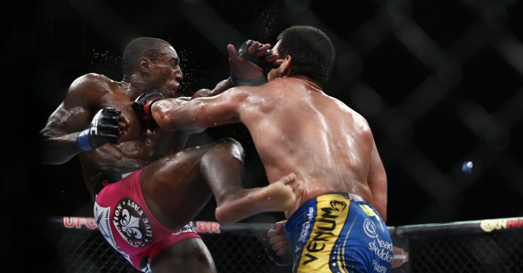 Revisión de robo: Phil Davis vs.Machida en UFC 163