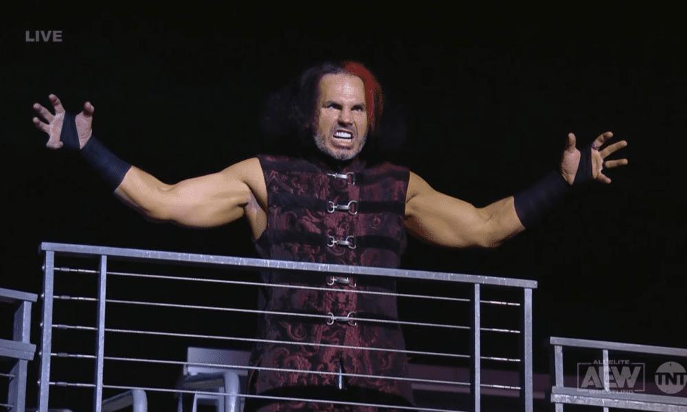 Tony Khan dijo que Matt Hardy no tuvo una conmoción cerebral y aparecerá en explosivos AEW este miércoles.