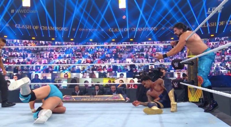 Últimas noticias de Angel Garza lesionado en el Campeonato WWE