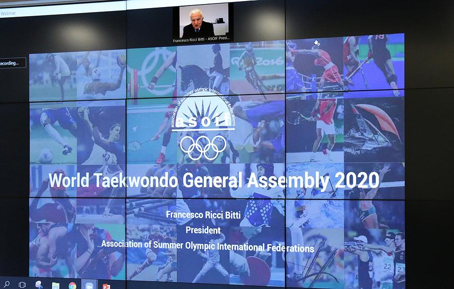 , World Taekwondo expresa optimismo por el futuro en la primera Asamblea General virtual, Noticia Sport