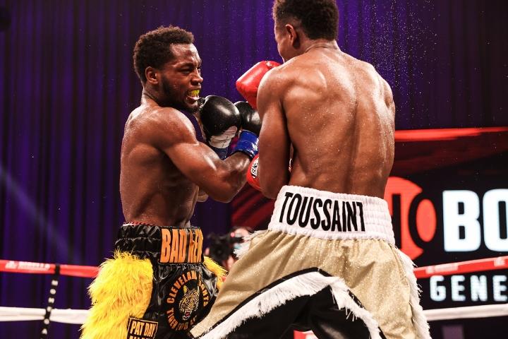 , Fotos: Charles Conwell noquea a Wendy Toussaint en Nueve, Noticia Sport