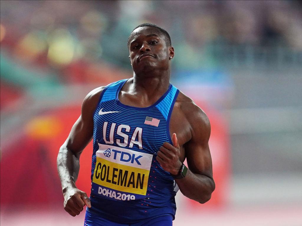 El campeón mundial de sprint de los 100 metros, Christian Coleman, PROHIBIDO de los Juegos Olímpicos de 2020 por infringir las normas antidopaje