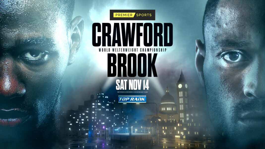 Crawford vs.Brook To Air en vivo en Premier Sports 1 en Reino Unido