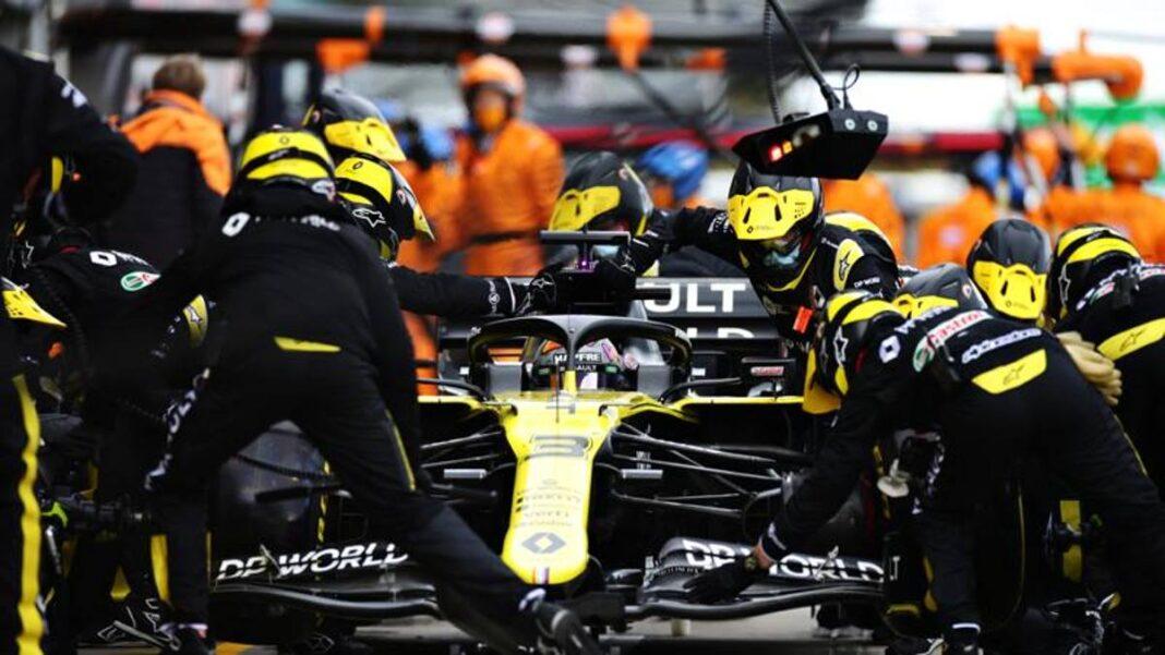 F1, GP de Portugal, Ricciardo: 'Renault en la cima.  Me gustaría el casco de Vettel