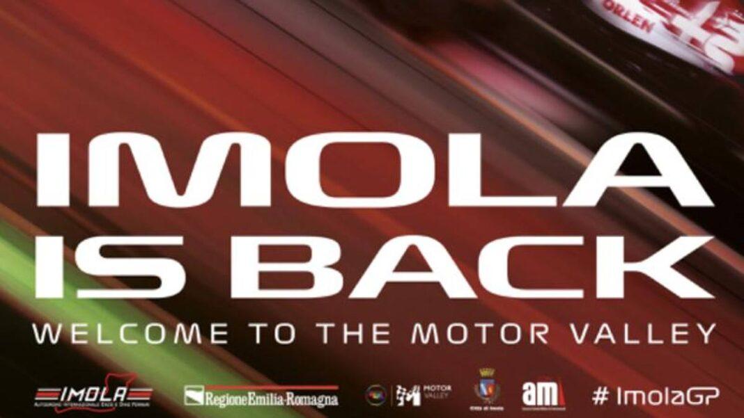 F1, aquí está el cartel del GP de Emilia-Romagna