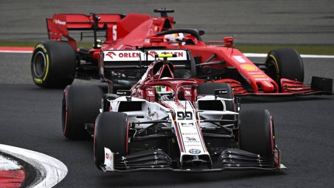 Fórmula 1: Ferrari bloquea a Giovinazzi y Schumi jr