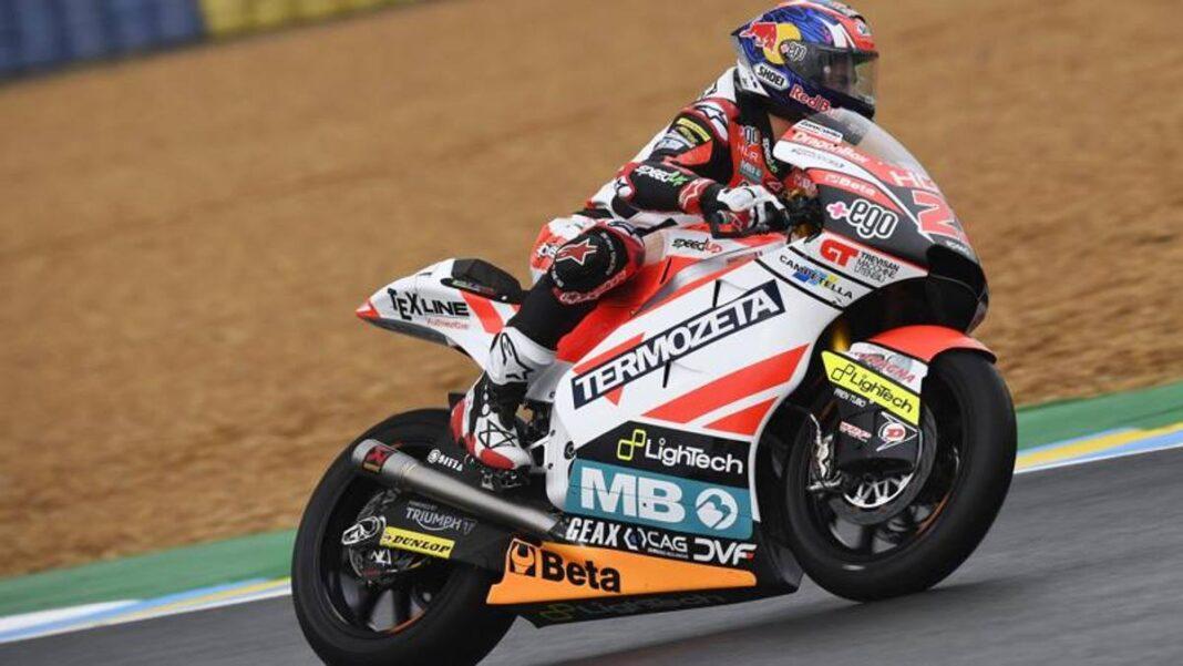 Free 2 Moto2 en Aragón: Di Giannantonio primero en FP2, Bezzecchi segundo