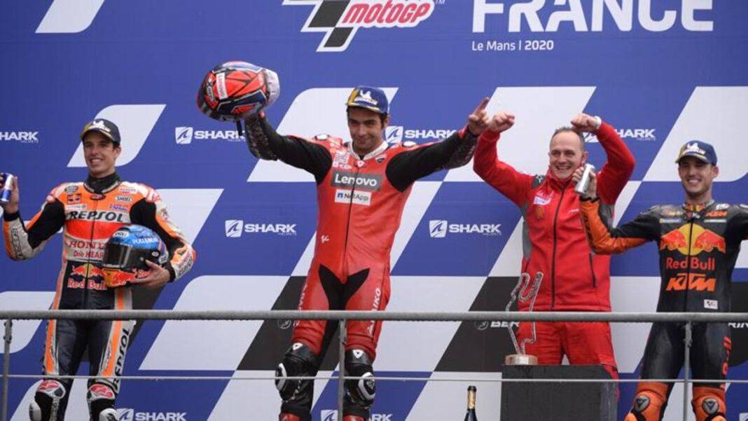 GP de Francia, las boletas de calificaciones: ¡super Petrucci, a partir de las 10!  Desastre de Rossi, 3