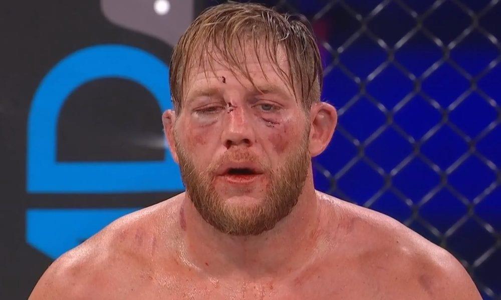 Jake Hager de AEW permanece invicto en la derrota de Bellator 250 ante Brandon Calton