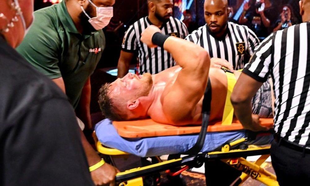 La estrella de WWE NXT Ridge Ridge Holland podría no detener sus operaciones hasta 2021
