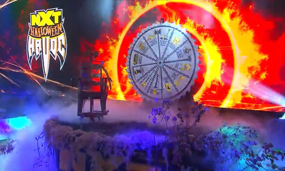 Primer vistazo a la escena de destrucción de Halloween de WWE NXT