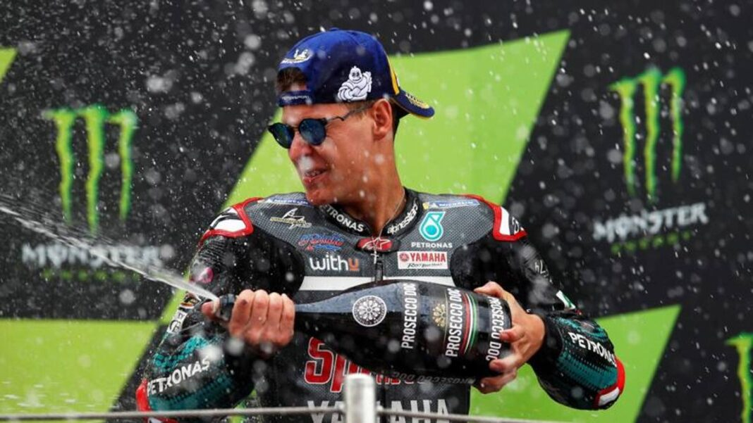 """Quartararo: """"La mejor victoria, otra vuelta y la Suzuki ..."""""""