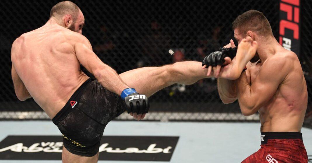 Resultados de UFC Fight Island 6: Guram Kutateladze (Guram Kutateladze) ganó la subestación para decidir la victoria, arruinando el debut de Mateusz Gamrot