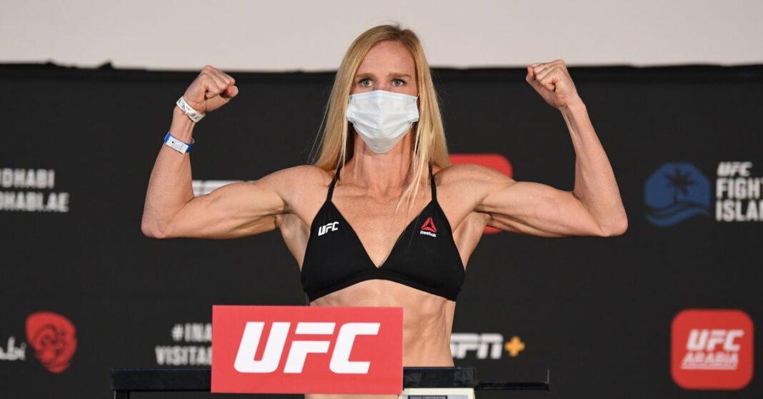 Resultados de pesaje de UFC Fight Island 4: Holly Holm e Irene Aldana aparecen en los titulares
