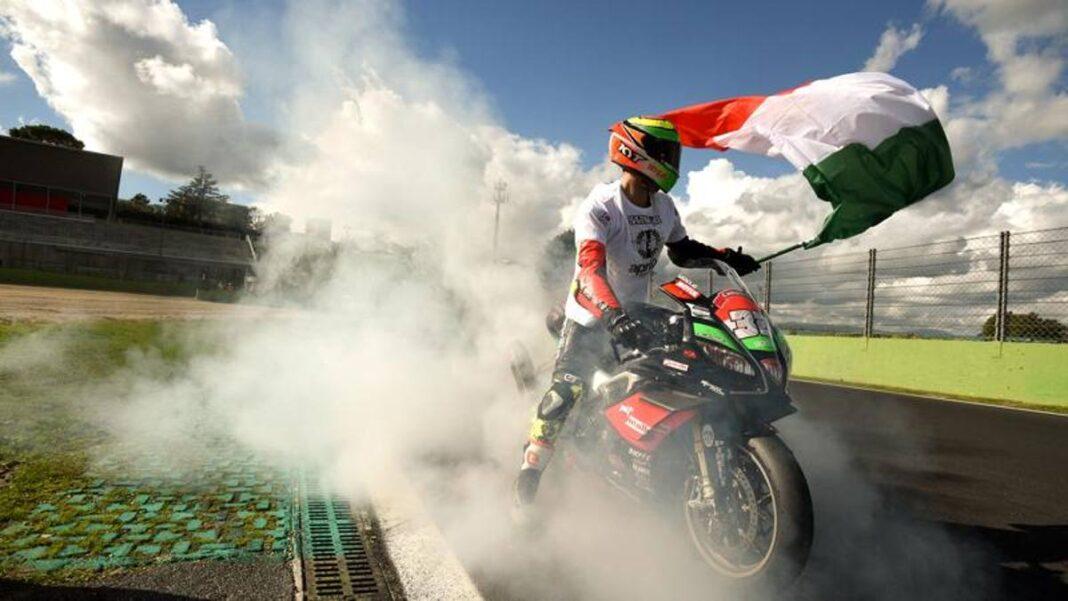 Superbike CIV, campeón italiano Savadori: también gana en Valleunga