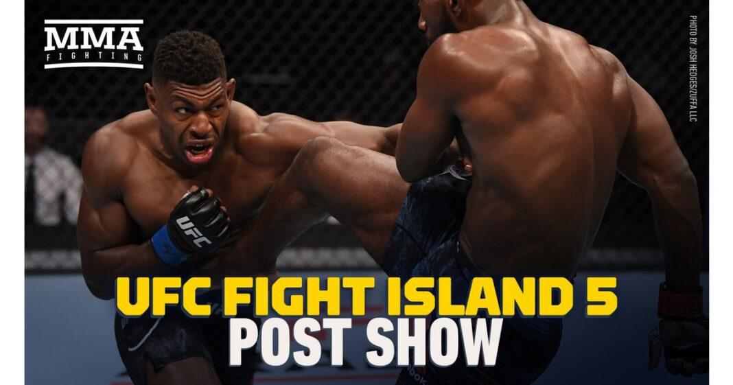 Video: Show de lucha de UFC Fight Island 5