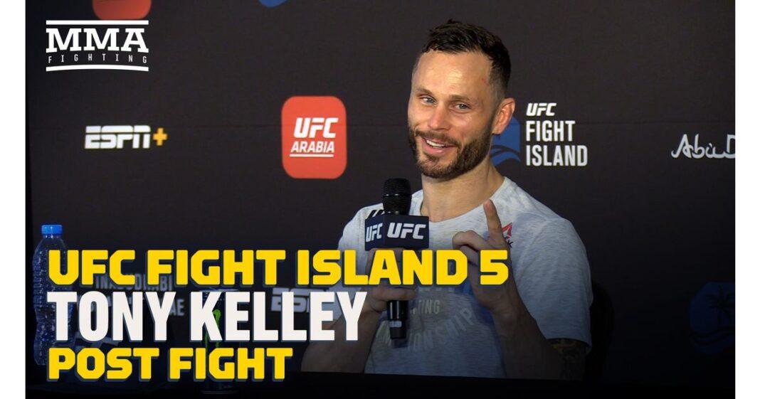 Video: Tony Kelley está frustrado con el campeonato de UFC Fight Island 5: