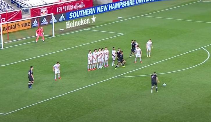 Video de gol de tiro libre de Higuaín Inter Miami
