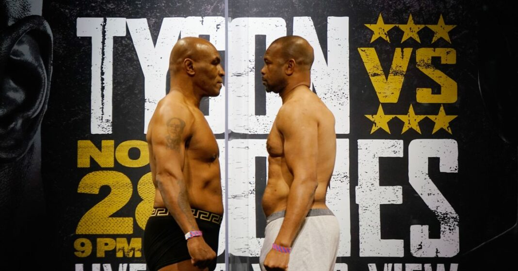 Mike Tyson y Roy Jones Jr .: actualización completa en tiempo real