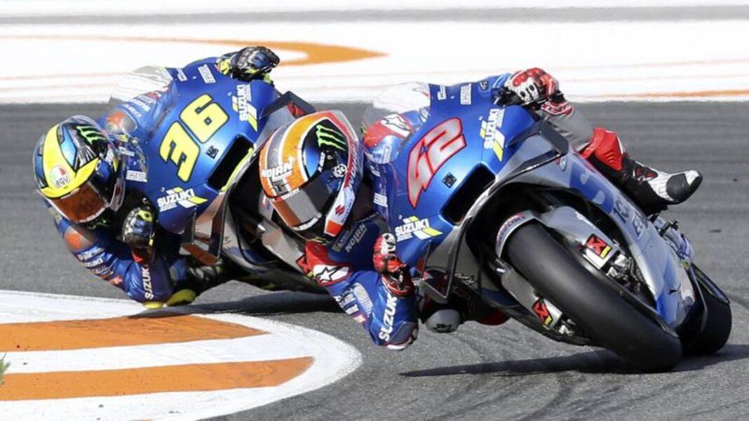 MotoGP, Suzuki y la novela del campeonato del mundo empezaron con planes ... robados