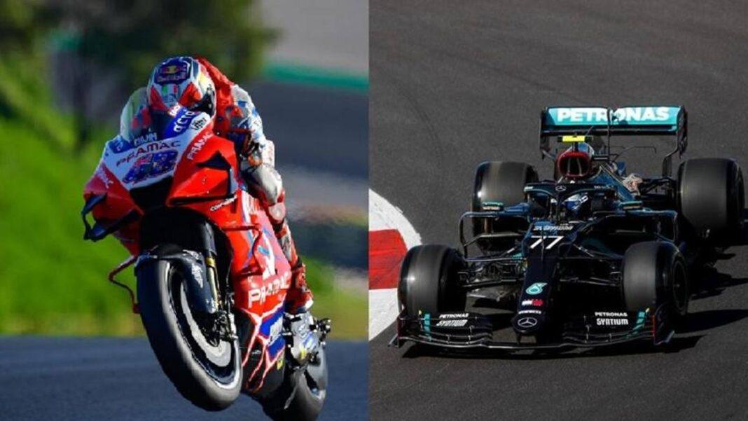 MotoGP vs F1 en la misma pista: comparación y análisis en Portimao