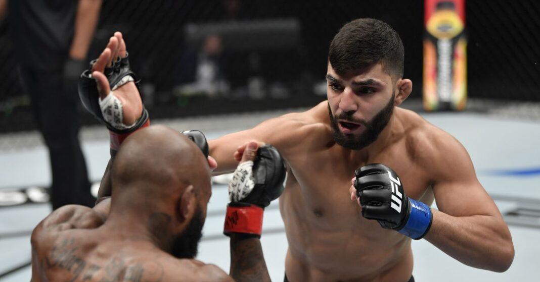 UFC Las Vegas 15 perdió ante Amir Albazi (Amir Albazi) vs.Zhalgas Zhumagulov (Zhalgas Zhumagulov), pero el juego será reprogramado