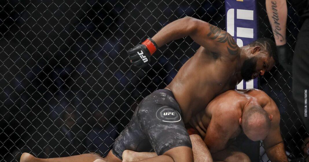 Video de pelea completa de UFC: Curtis Blaydes comete una falta sobre Shamil Abdurakhimov y anota la segunda ronda de Tseung Kwan O