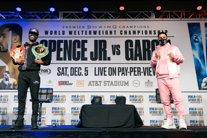 , Fotos: Errol Spence, Danny García – Cara a cara en Final Presser, Noticia Sport
