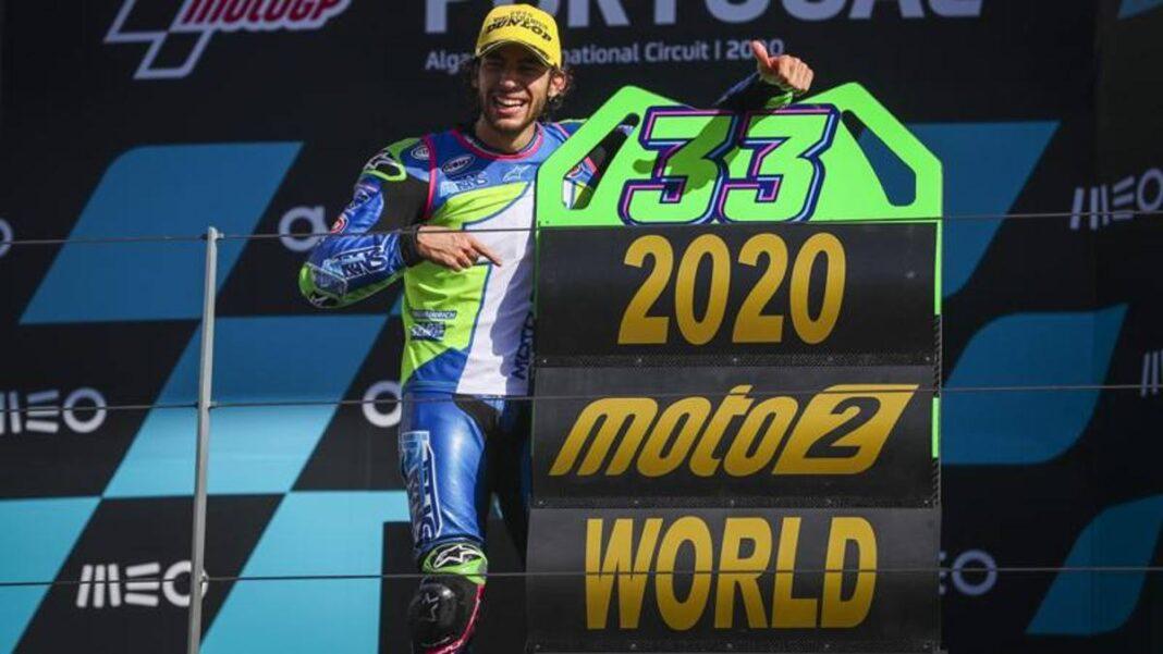 """Bastianini: """"Qué orgullo es el título de Moto2.  Rossi?  Será un honor correr con él"""