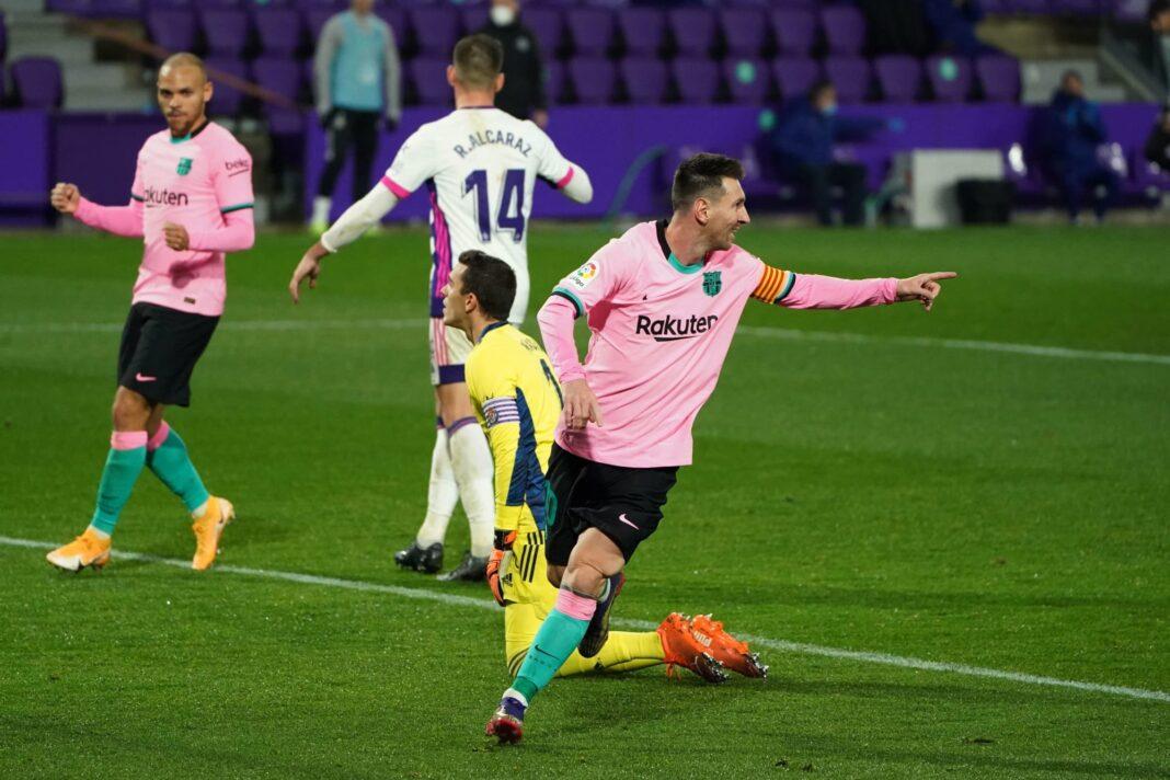 Lionel Messi supera el récord de goles de Pelé en un solo club con 644 goles