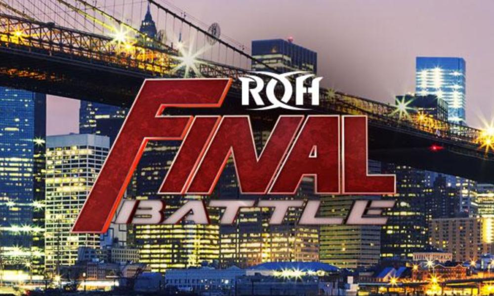 ROH se une a la carrera de cuatro en la batalla final
