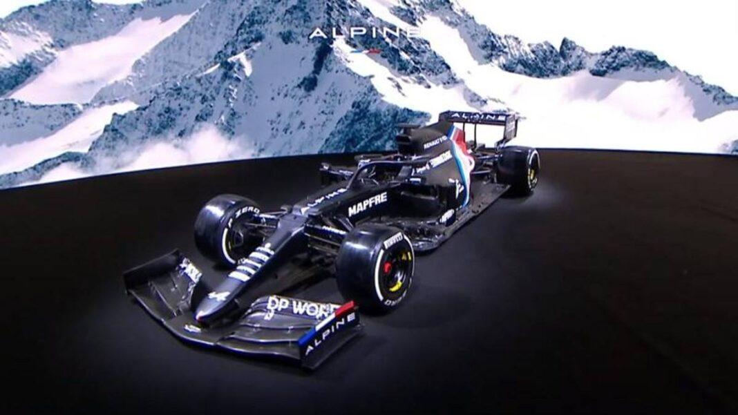 Renault muestra los colores del monoplaza Alpine F1 2021