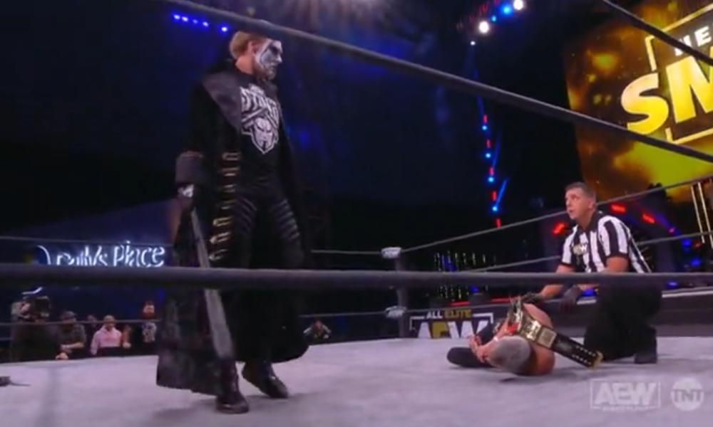 Sting ahorra espacio para el campeón de TNT Darby Allin en explosivos AEW