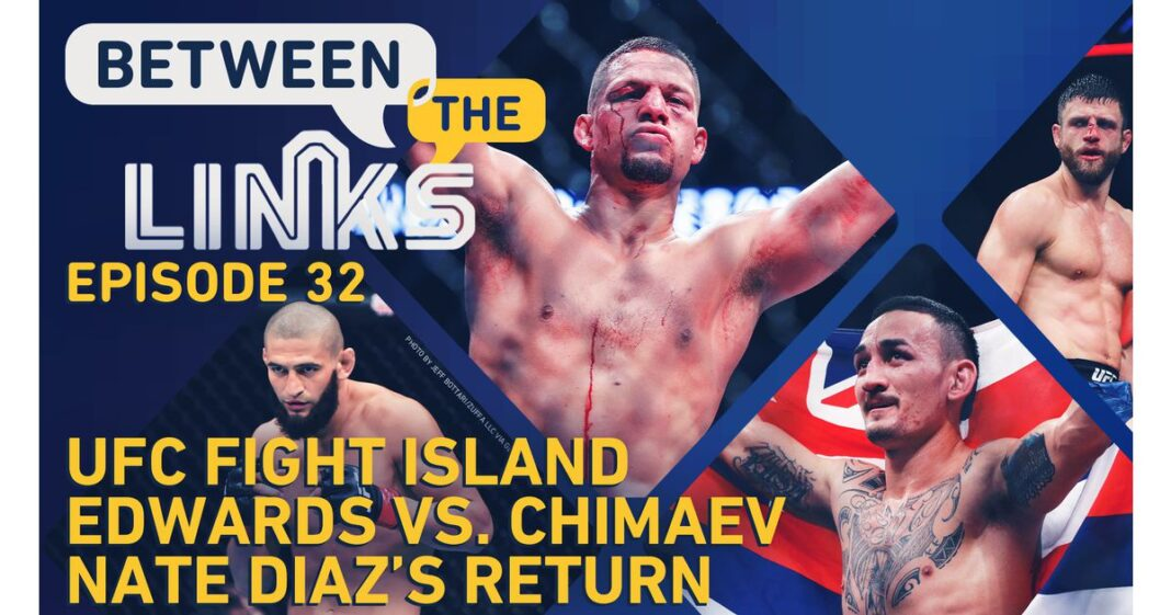 Video: Entre enlaces, versión en vivo: vista previa de Battle Island, Holloway contra Qatar, próximo movimiento de Nate Diaz, Edwards contra Kimayev, etc.