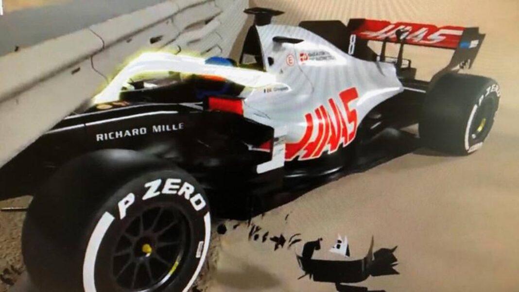 Accidente de F1 Grosjean, así es como el Halo salvó la vida del francés de Haas