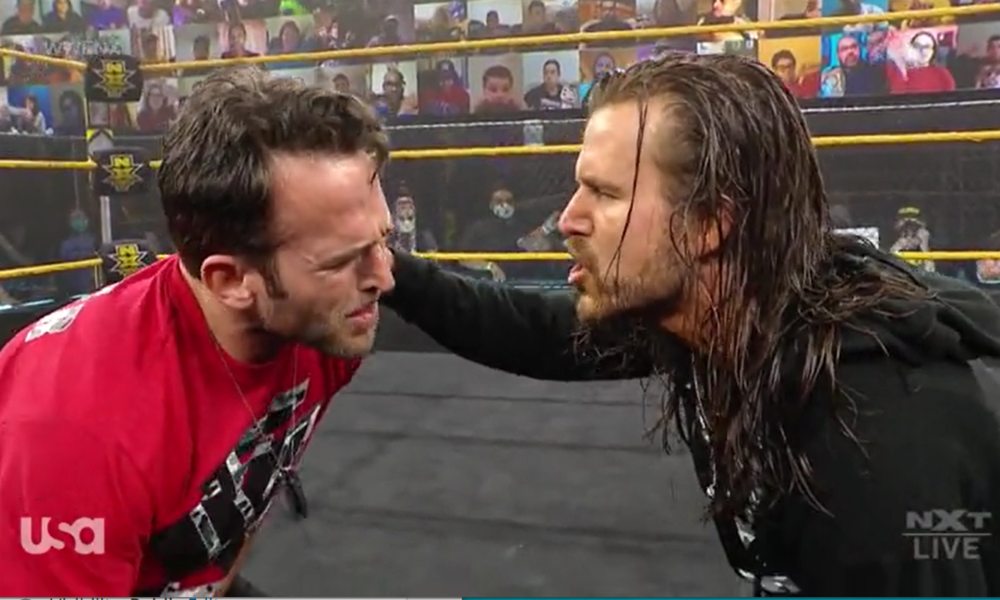Adam Cole ataca a Roderick Strong en WWE NXT, la era indiscutible se completa oficialmente