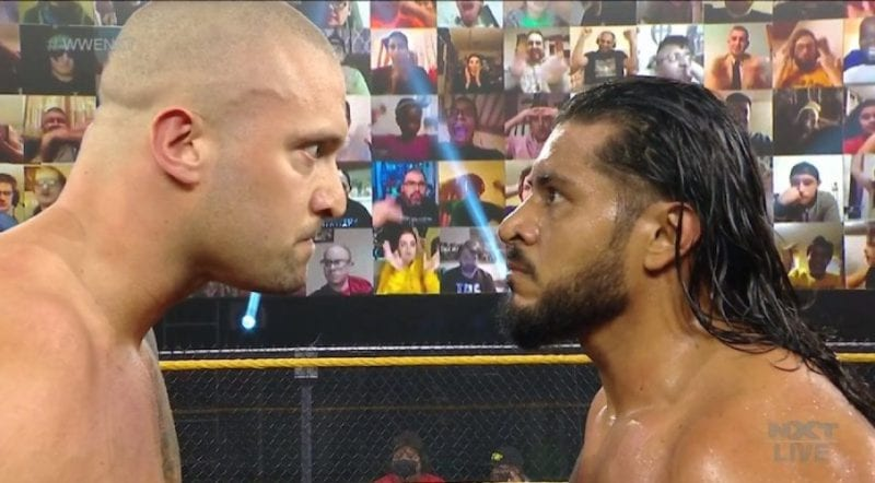 El motivo de Karrion Kross vs Santos Escobar no sucedió en WWE NXT el miércoles
