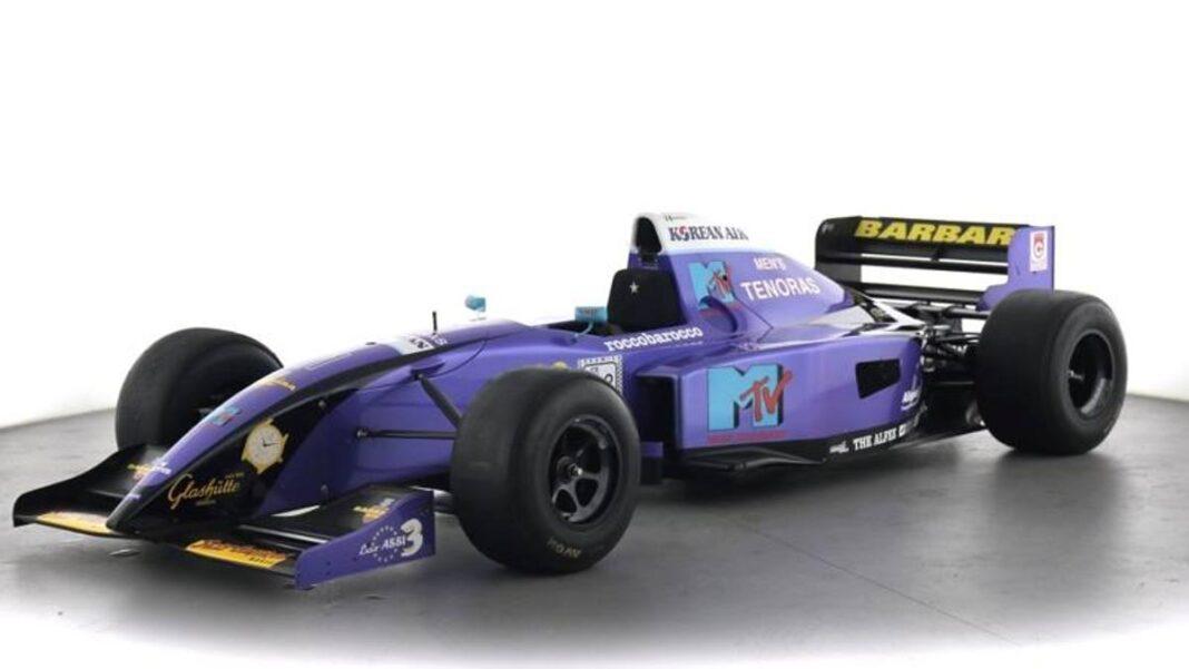 F1, 1995 Simtek a la venta: fue el último ejemplo del equipo